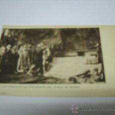 Postales: POSTAL. J.M. CARBONERO. LA CONVERSION DEL DUQUE DE GANDÍA. SERIE I Nº 2. HAUSER Y MENET. SIN DIVIDIR. Lote 18236146
