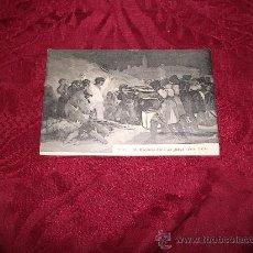 Postales: GOYA ESCENAS DEL 3 DE MAYO(1808-1908),FOT J LACOSTE. Lote 18579880