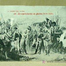 Postales: ANTIGUA POSTAL, Nº 25, LA CAPITULACION DE BAILEN, 1808 - 1908, LACOSTE, CASADO DE ALISAL. Lote 19382996