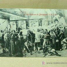 Postales: ANTIGUA POSTAL, Nº 18, LA DEFENSA DE ZARAGOZA, NIC - MEJIA, 1808 - 1908, LACOSTE. Lote 19383196