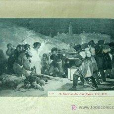 Postales: ANTIGUA POSTAL, Nº 10, ESCENAS DEL 3 DE MAYO, GOYA, 1808 - 1908, LACOSTE. Lote 19383646