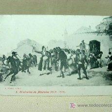 Postales: ANTIGUA POSTAL, Nº 3, EL ALCALDE DE MOSTOLES, PEREZ RUBIO, 1808 - 1908, LACOSTE. Lote 19383882