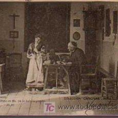 Postales: POSTAL TEATRO COLECCION CASANOVAS SERIE L Nº 7 CIRCULADA 1902. Lote 19592301