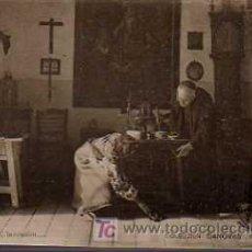 Postales: POSTAL TEATRO COLECCION CASANOVAS SERIE L Nº 5 CIRCULADA 1902. Lote 19592739