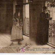 Postales: POSTAL TEATRO COLECCION CASANOVAS SERIE L Nº 1 CIRCULADA 1902. Lote 19592858