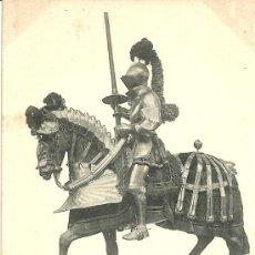 Postales: COLECCION REAL ARMERIA I SERIE 2 ARNES DE GUERRA DE CARLOS V 1520 HAUSER Y MENET MADRID. Lote 19800365