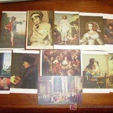 Postales: LOTE DE 11 POSTALES DE ARTE, PINTURA. Lote 20147523