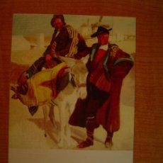 Postales: POSTAL JOAQUIN SOROLLA BASTIDA 1863 - 1923 MUSEO SOROLLA MADRID TIPOS MANCHEGOS 1912. Lote 20607797
