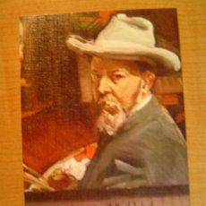Postales: POSTAL JOAQUIN SOROLLA BASTIDA 1863 - 1923 MUSEO SOROLLA MADRID AUTORETRATO 1909. Lote 20607907