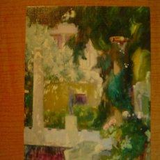 Postales: POSTAL JOAQUIN SOROLLA BASTIDA 1863 - 1923 MUSEO SOROLLA MADRID JARDIN CASA SOROLLA 1917. Lote 20613017