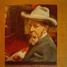 Postales: POSTAL JOAQUIN SOROLLA BASTIDA 1863 - 1923 MUSEO SOROLLA - MADRID AUTORRETRATO 1909. Lote 20623620