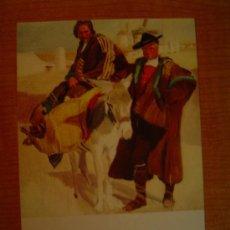 Postales: POSTAL JOAQUIN SOROLLA BASTIDA 1863 - 1923 MUSEO SOROLLA MADRID TIPOS MANCHEGOS 1912. Lote 20623746