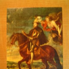 Postales: POSTAL RUBENS 1577 - 1640 FELIPE II A CABALLO MUSEO DEL PRADO . Lote 20623958