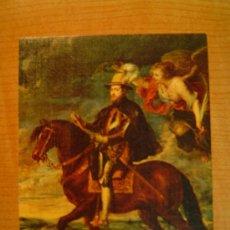 Postales: POSTAL RUBENS 1577 - 1640 FELIPE II A CABALLO MUSEO DEL PRADO. Lote 20642216