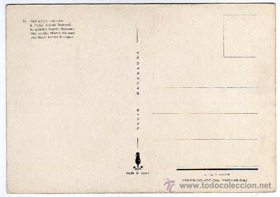 Postales: TARJETA POSTAL - COLECCIÓN SAVIR, NÚMERO 32 - VAN DYCK - EL PINTOR MARTÍN RICKAERT. - Foto 2 - 20886758