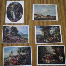 Postales: 6 POSTALES .. ARTE – PINTURA .. THE ROYAL. Lote 21383098