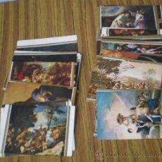 Postales: 93 POSTALES .. CUADROS DEL MUSEO DEL PRADO .. LA MAYORÍA ESCRITAS EN 1970. Lote 21383132