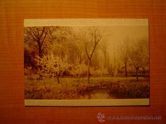 POSTAL MUSEO DE ARTE MODERNO (BARCELONA) JOAQUIN VAYREDA PAISAJE PRIMAVERAL SIN CIRCULAR (Postales - Postales Temáticas - Arte)