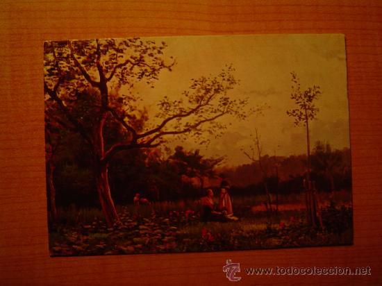 POSTAL MUSEO DE ARTE MODERNO (BARCELONA) JOAQUIN VAYREDA PAISAJE SIN CIRCULAR (Postales - Postales Temáticas - Arte)