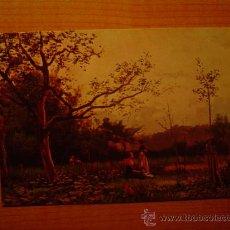 Postales: POSTAL MUSEO DE ARTE MODERNO (BARCELONA) JOAQUIN VAYREDA PAISAJE SIN CIRCULAR . Lote 21422456