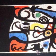 Postales: POSTAL JOAN MIRÓ - DONA I OCELLS 1968. Lote 26930454