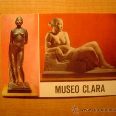 Postales: POSTAL MUSEO CLARA DESNUDO MUJER SIN CIRCULAR. Lote 21493647