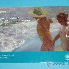 Postales: POSTAL EXPOSICIÓN VISIÓN DE ESPAÑA. SOROLLA. FRAGMENTO DE LA OBRA 'AL AGUA' 1908. Lote 22251894