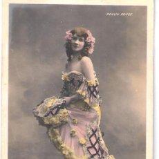 Postales: TARJETA POSTAL. ACTRIZ ALICE LEFEVRE. WALERY PARIS. MOULIN ROUGE.. Lote 22531411