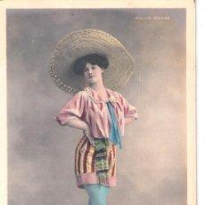 Cartes Postales: TARJETA POSTAL. ACTRIZ LIZZIE WALERY PARIS, MOULIN ROUGE. Lote 22534316