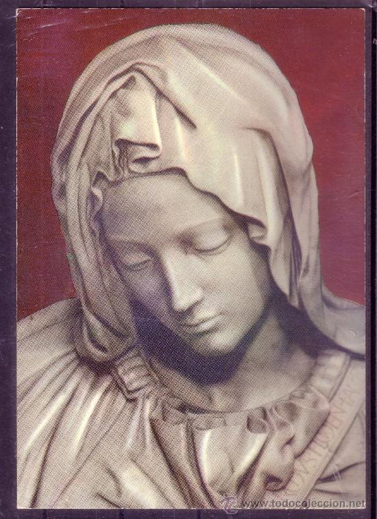 LA PIEDAD DE MIGUEL ANGEL - ROMA (Postales - Postales Temáticas - Arte)
