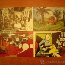 Postales: 20 POSTALES MUSEO PICASSO BARCELONA DIFERENTES SIN CIRCULAR. Lote 22950185