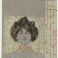 Postales: TARJETA POSTAL MODERNISTA. ILUSTRACIÓN DE RAPHAEL KIRCHNER (AUSTRIA, 1876-1917).. Lote 26090239