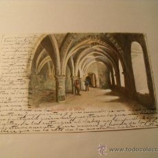 Postales: POSTAL SUIZA, CARCEL DE CHILLON . ESCRITA EN ESPAÑOL SELLO ALFONSO XIII. CIRCULADA 1904. POSTAL 987. Lote 24079143