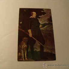 Postales: POSTAL DE FELIPE IV POR VELAZQUEZ. S/C. MUSEO DEL PRADO, AÑOS 30. POSTAL 1080. Lote 24122720