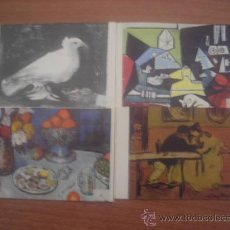 Postales: 4 POSTALES MUSEO PICASSO BARCELONA SIN CIRCULAR . Lote 24243111