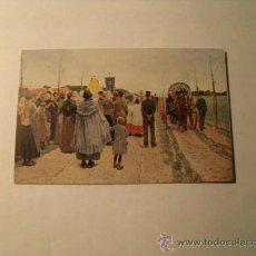 Postales: POSTAL DE UN CUADRO DEL MUSEO DE ARTE DE BARCELONA. S/C. AÑOS 20. POSTAL 1102. Lote 24244766