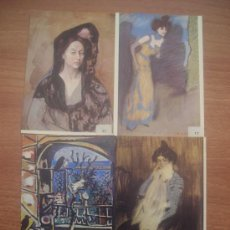 Postales: 14 POSTALES MUSEO PICASSO BARCELONA SIN CIRCULAR . Lote 24263497