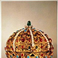 Postales: VIENA. KUNSTHISTORISCHES MUSEUM. WELTLICHE SCHATZKAMMER. THE CROWN OF STEPHAN BOCSKAY.. Lote 27306897