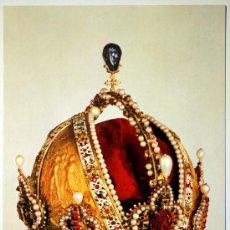 Postales: VIENA. KUNSTHISTORISCHES MUSEUM. WELTLICHE SCHATZKAMMER. THE CROWN OF EMPEROR RUDOLF II.. Lote 27190808
