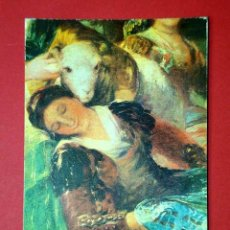Postales: LAS LAVANDERAS, DETALLE. FRANCISCO DE GOYA (1746 - 1828) Nº 370. LA POLÍGRAFA, D.L. B-34621-XII +++. Lote 24720408