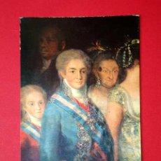 Postales: FAMILIA DE CARLOS IV DETALLE. FRANCISCO DE GOYA (1746 - 1828) Nº 371. LA POLÍGRAFA, D.L. B-34622-XII. Lote 24720440