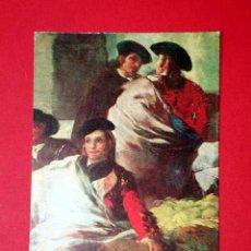 Postales: JUEGO PELOTA PALA, DETALLE. FRANCISCO DE GOYA (1746 - 1828) Nº 373. LA POLÍGRAFA, D.L. B-34624-XII. Lote 24720528