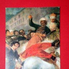 Postales: 2 MAYO 1808 MADRID, DETALLE. FRANCISCO DE GOYA (1746 - 1828) Nº 374. LA POLÍGRAFA, D.L. B-34625-XII. Lote 24720554