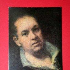Postales: AUTORRETRATO. FRANCISCO DE GOYA (1746 - 1828) Nº 379. LA POLÍGRAFA, D.L. B-34630-XII. Lote 24720742
