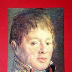 Postales: RETRATO JUAN ANTONIO CUERVO. FRANCISCO DE GOYA (1746 - 1828) Nº 382. LA POLÍGRAFA, D.L. B-34633-XII. Lote 24720835