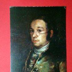 Postales: AUTORRETRATO. FRANCISCO DE GOYA (1746 - 1828) Nº 387. LA POLÍGRAFA, D.L. B-34638-XII. Lote 24720971