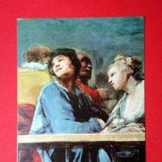 Postales: SAN ANTONIO DE LA FLORIDA. FRANCISCO DE GOYA (1746-1828) Nº 392. LA POLÍGRAFA, D.L. B-34643-XII. Lote 24721178
