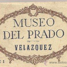 Postales: MUSEO DEL PRADO. POSTALES DE VELAZQUEZ (20 POSTALES DE CUADROS). Lote 25242558