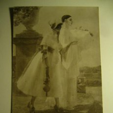 Postales: POSTAL SALON DE PARIS J.P GALEY FANTASIA CIRCULADA 1924 SELLO 15 CENTIMOS ALFONSO XIII SPA. Lote 26800434