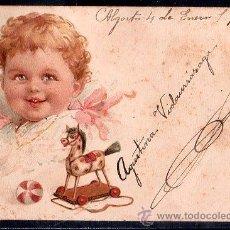 Postales: TARJETA POSTAL DE RAPHAEL TUCK & FILS LIP. SERIE 43 NUMERO 8. Lote 26100847